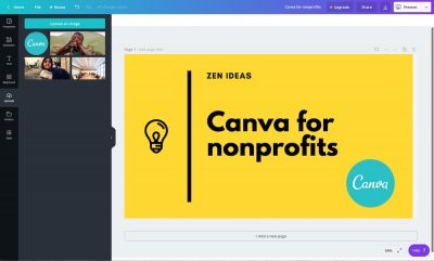 Canva for nonprofit