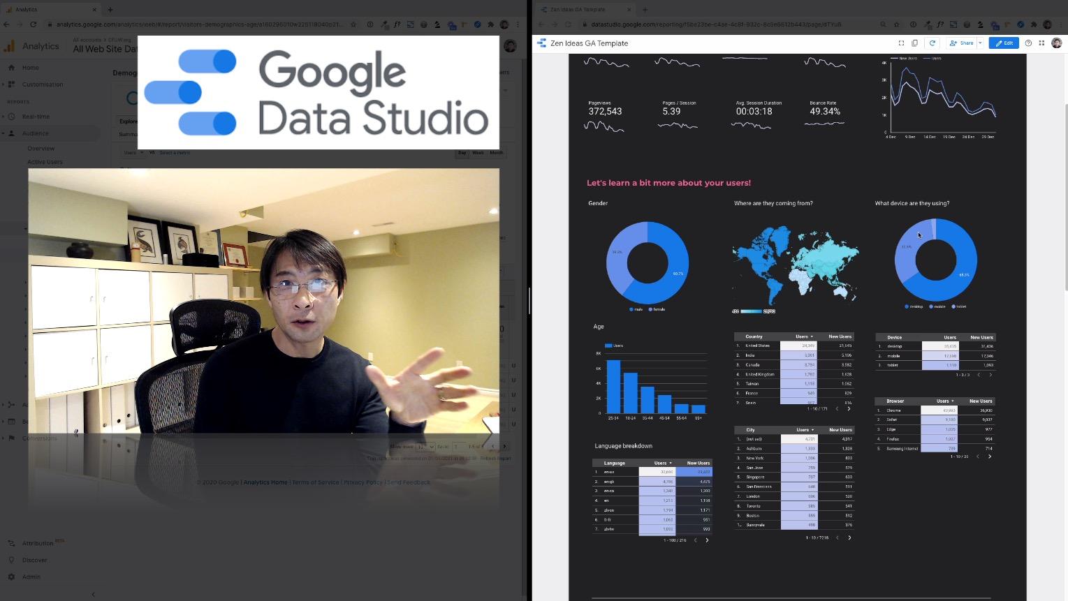 How to customize your Google Analytics data with Google Data Studio