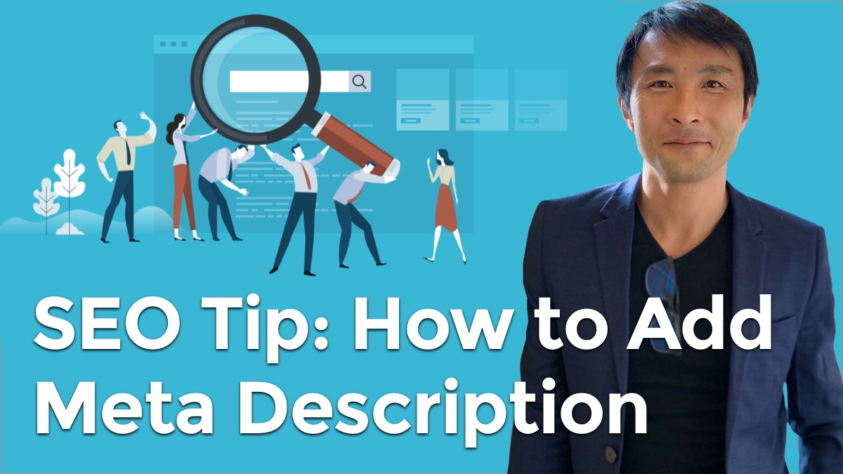 SEO tip how to add meta description